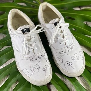 Bucketfeet Duck Print Sneakers